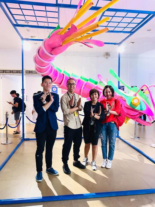 Giới trẻ Sài Gòn mãn nhãn với hàng loạt tác phẩm 3D tại triển lãm Loài Plastic: Lâu lắm rồi mới có một dự án bảo vệ môi trường thú vị như thế này! - Ảnh 14.