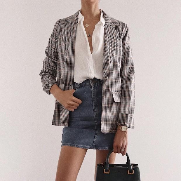 Trẻ hóa chiếc blazer quen thuộc bằng 5 cách mix đồ siêu dễ, nàng công sở học ngay để đầu tuần diện đi làm - Ảnh 2.