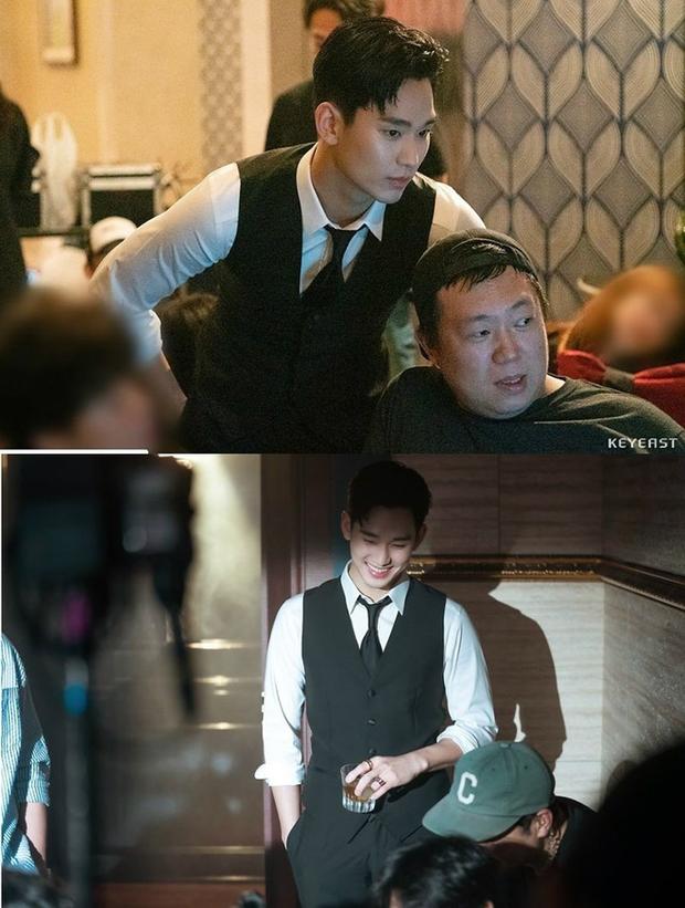 Kim Soo Hyun bùng nổ nhan sắc trong hậu trường Hotel Del Luna, cơn sốt hậu duệ của CEO IU đừng hòng có dịp nguội lạnh! - Ảnh 5.