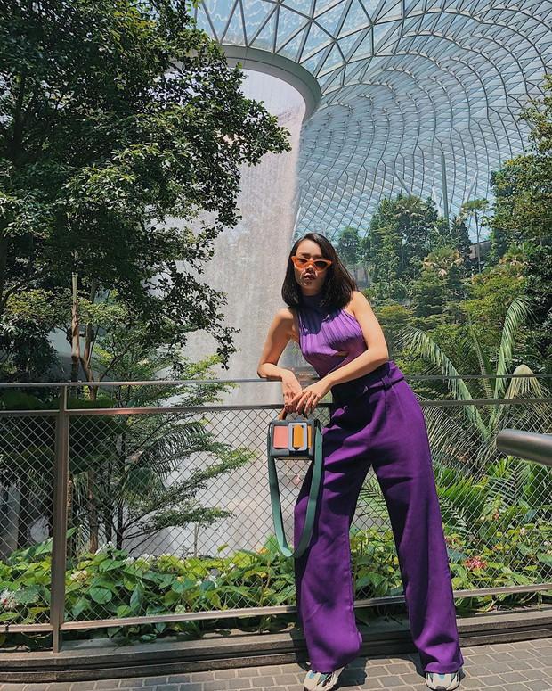 Với 12 ý tưởng lên đồ đẹp ngất của Yến Trang, mỗi lần bạn diện quần ống rộng sẽ là một lần trầm trồ - Ảnh 12.