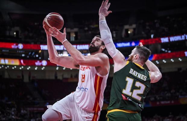 Bỏ lỡ cơ hội bằng vàng ở giây cuối cùng, Úc cay đắng nhìn Tây Ban Nha tiến vào chung kết FIBA World Cup 2019 - Ảnh 3.