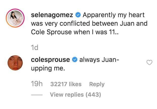 """Selena Gomez gây choáng khi thừa nhận từng thích Cole Sprouse, phản ứng của ngôi sao """"Zack & Cody"""" còn đáng chú ý hơn - Ảnh 3."""