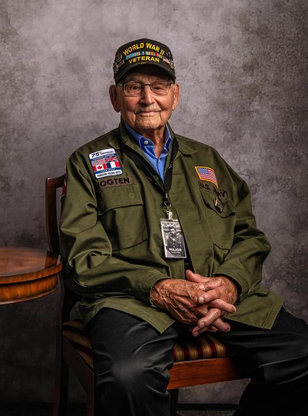 Nhiếp ảnh tôn vinh: Chụp chân dung những cựu chiến binh Thế chiến thứ 2 cuối cùng - Ảnh 8.