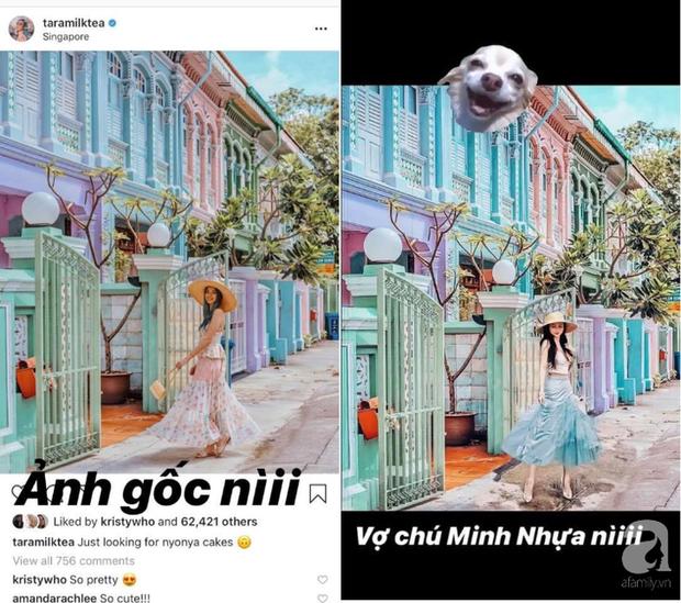 Mina Phạm - vợ 2 đại gia Minh Nhựa đăng story xoáy thẳng vào phốt photoshop ảnh, hỏi ngược: Ảnh ăn cắp đây ư? - Ảnh 3.