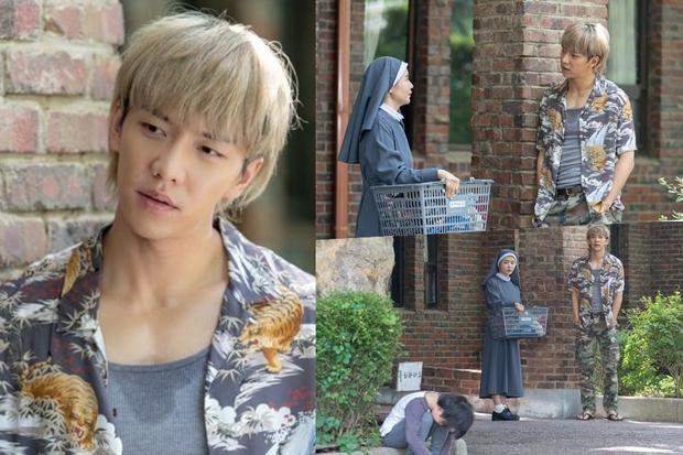 Chất chơi như Lee Seung Gi ở bom tấn hành động Vagabond: Nhuộm tóc vàng hoe ăn diện như idol Kpop? - Ảnh 4.