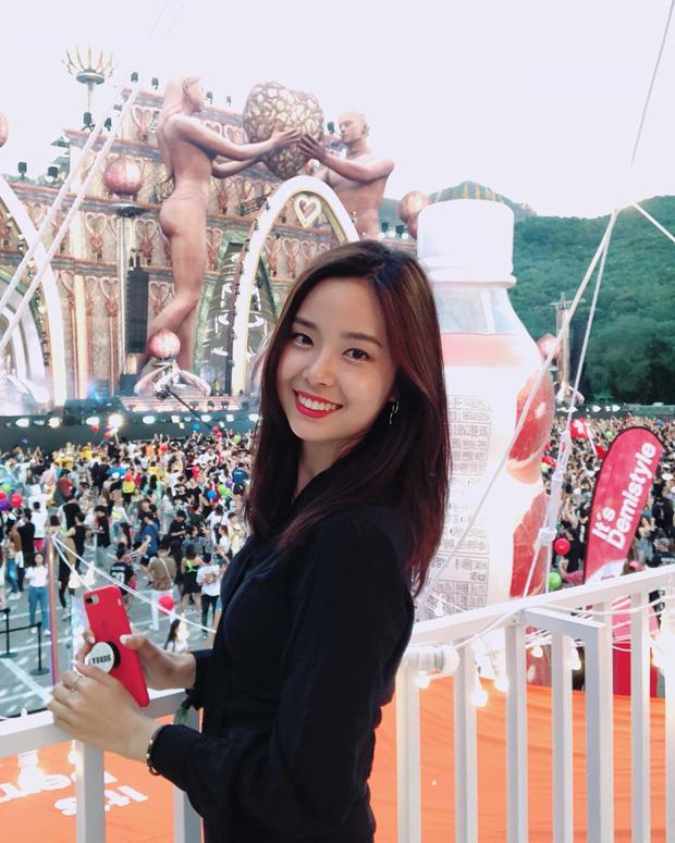Lạ lùng nhan sắc thật của tân Hoa hậu Hàn Quốc: Selfie kém xinh, chụp lén xuất thần, nhìn thoáng na ná mỹ nhân BLACKPINK - Ảnh 3.