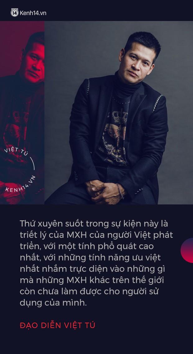 Đạo diễn Việt Tú hé lộ những thông tin nóng hổi trước giờ G lễ ra mắt MXH Lotus: Đây là sự kiện công nghệ làm thỏa mãn tất cả mọi người! - Ảnh 3.