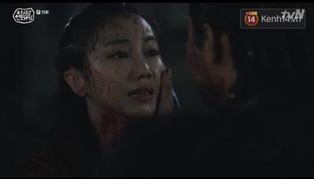 Arthdal Niên Sử Kí tập 15: Kinh hoàng với trận đại thảm sát, Kim Ji Won suýt chết thảm 3 lần nếu không có Song Joong Ki! - Ảnh 7.