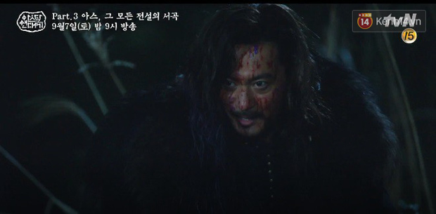 Arthdal Niên Sử Kí tập 15: Kinh hoàng với trận đại thảm sát, Kim Ji Won suýt chết thảm 3 lần nếu không có Song Joong Ki! - Ảnh 3.