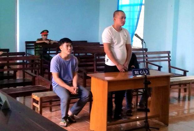 Ba thanh niên đánh xe tải từ Đăk Lăk qua Gia Lai trộm chó - Ảnh 1.