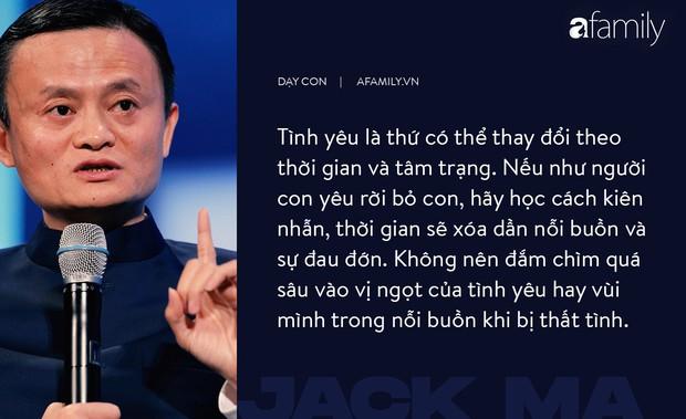 9 điều đáng giá ngàn vàng của tỉ phú Jack Ma dạy con, cha mẹ càng đọc càng thấy tâm đắc - Ảnh 4.