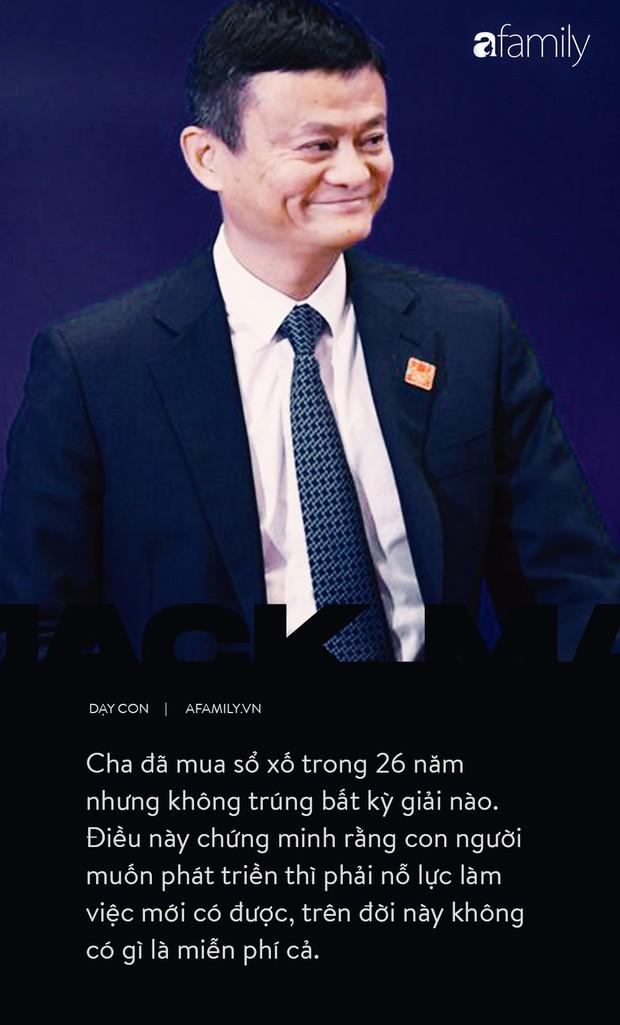 9 điều đáng giá ngàn vàng của tỉ phú Jack Ma dạy con, cha mẹ càng đọc càng thấy tâm đắc - Ảnh 8.