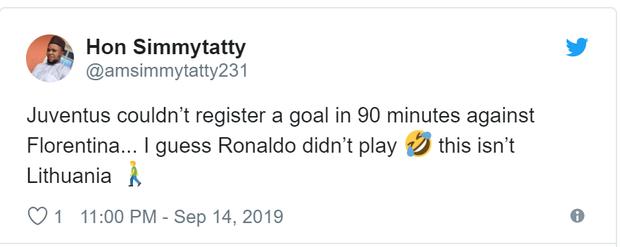 Ronaldo nhận về cơn mưa chỉ trích và mỉa mai sau thống kê toàn số 0 ở trận đấu với Fiorentina - Ảnh 3.