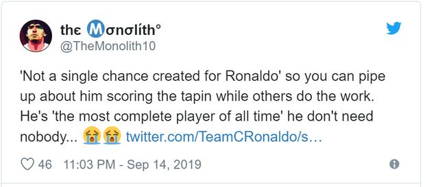 Ronaldo nhận về cơn mưa chỉ trích và mỉa mai sau thống kê toàn số 0 ở trận đấu với Fiorentina - Ảnh 4.