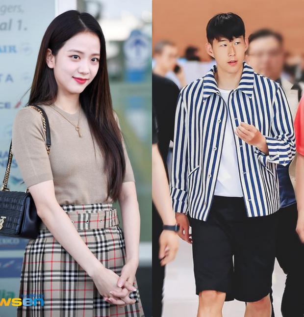 HOT: Nữ thần Jisoo (BLACKPINK) dính tin đồn hẹn hò cầu thủ đào hoa nhất xứ Hàn, lặn lội sang Anh chỉ để cỗ vũ? - Ảnh 3.