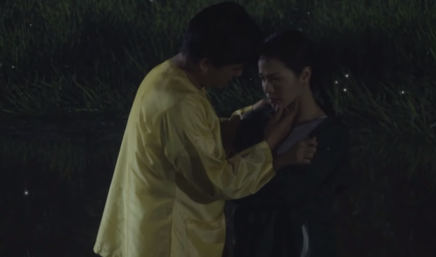 Không chịu khai ai là tác giả của cái bầu, Thị Bình (Tiếng Sét Trong Mưa) bị bà Hội thẳng tay ném xuống giếng - Ảnh 4.