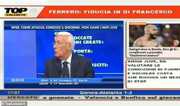 BLV bóng đá lão làng người Italy bị đài phát thanh đuổi việc vì dám phân biệt chủng tộc đối với cựu cầu thủ MU - Ảnh 1.