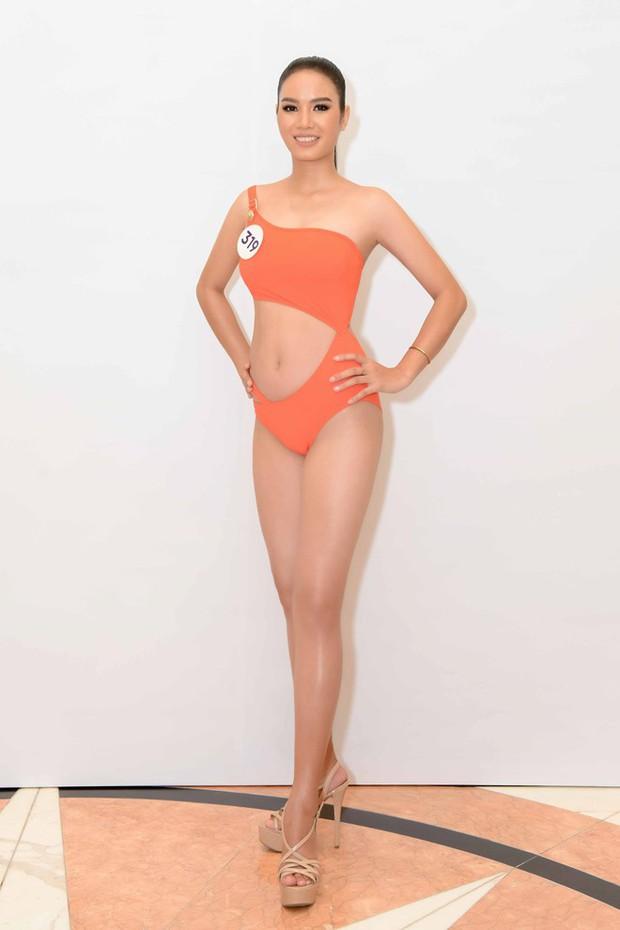 Ngắm trọn body bốc lửa trong bikini của dàn thí sinh Hoa hậu Hoàn vũ Việt Nam khu vực miền Bắc: Ai là đáng gờm nhất? - Ảnh 7.