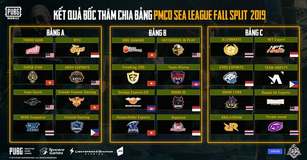 Tất cả thông tin cần biết về PMCO SEA League mùa Thu - Giải đấu hứa hẹn đưa PUBG Mobile Việt vươn tầm quốc tế - Ảnh 3.