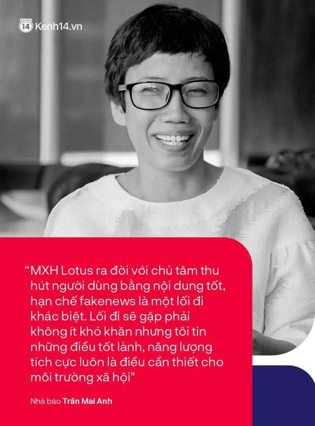 Nhà báo Trần Mai Anh và 13 năm mang điều tử tế đến với những đứa trẻ: Tinh thần hướng thiện đại diện cho những giá trị tích cực của MXH Lotus - Ảnh 4.