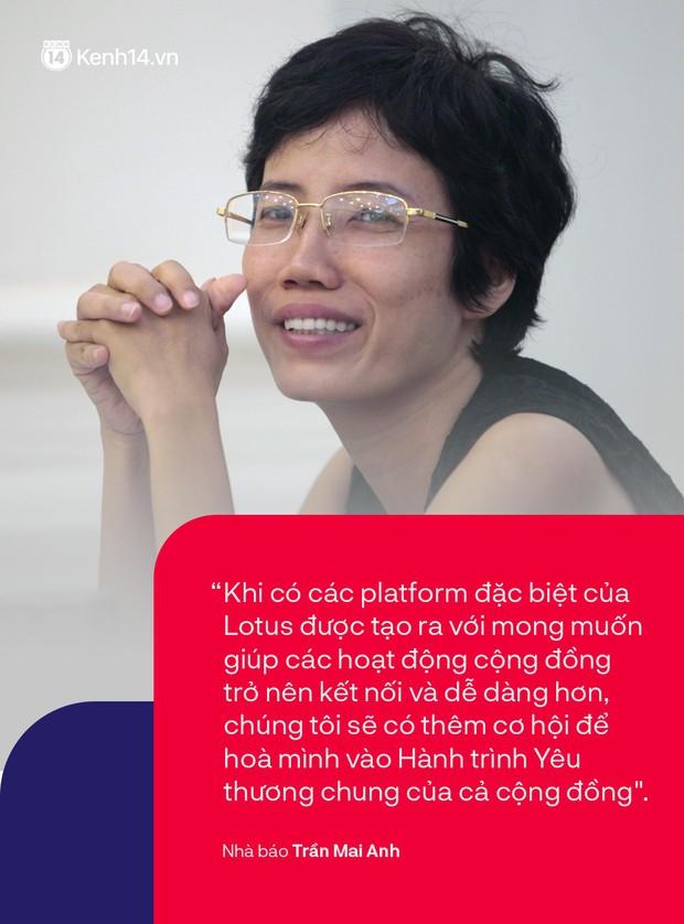 Nhà báo Trần Mai Anh và 13 năm mang điều tử tế đến với những đứa trẻ: Tinh thần hướng thiện đại diện cho những giá trị tích cực của MXH Lotus - Ảnh 5.