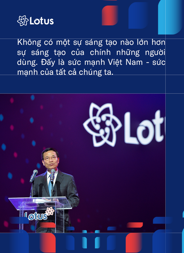 Bộ trưởng Bộ TT&TT Nguyễn Mạnh Hùng: Phát triển Lotus không phải thách thức mà là cơ hội. Vì việc dễ thì không tạo ra người tài - Ảnh 3.