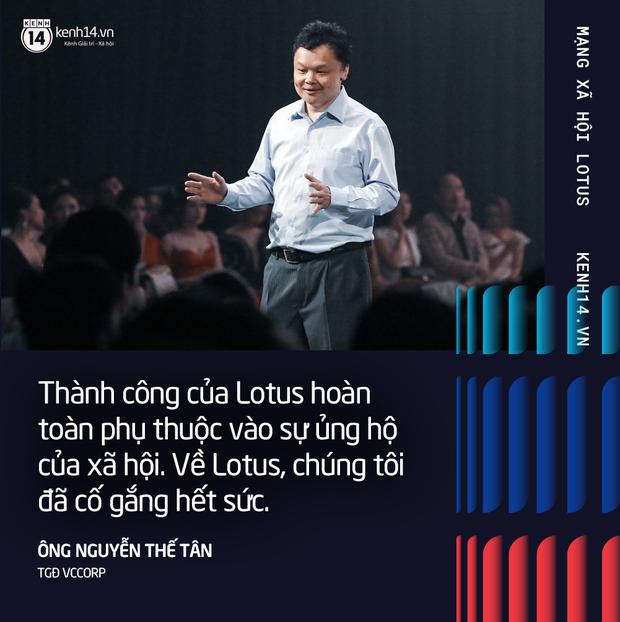 Những chia sẻ ấn tượng của TGĐ VCCorp trong buổi ra mắt MXH Lotus - Ảnh 7.