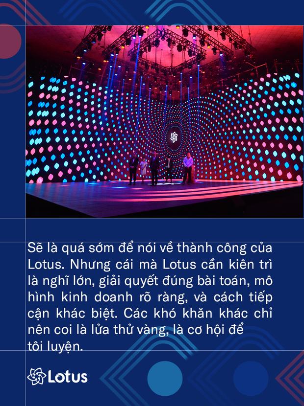 Bộ trưởng Bộ TT&TT Nguyễn Mạnh Hùng: Phát triển Lotus không phải thách thức mà là cơ hội. Vì việc dễ thì không tạo ra người tài - Ảnh 7.