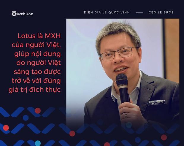 """Doanh nhân, bác sĩ kỳ vọng về MXH """"make in Việt Nam"""": Lotus là sân chơi mới, sẽ giúp nội dung được trở về đúng giá trị đích thực - Ảnh 3."""