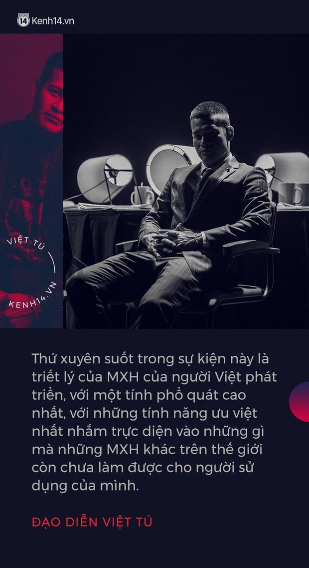 Đạo diễn Việt Tú hé lộ những thông tin nóng hổi về buổi ra mắt MXH Lotus: Đây sẽ là sự kiện công nghệ làm thỏa mãn tất cả mọi người! - Ảnh 3.
