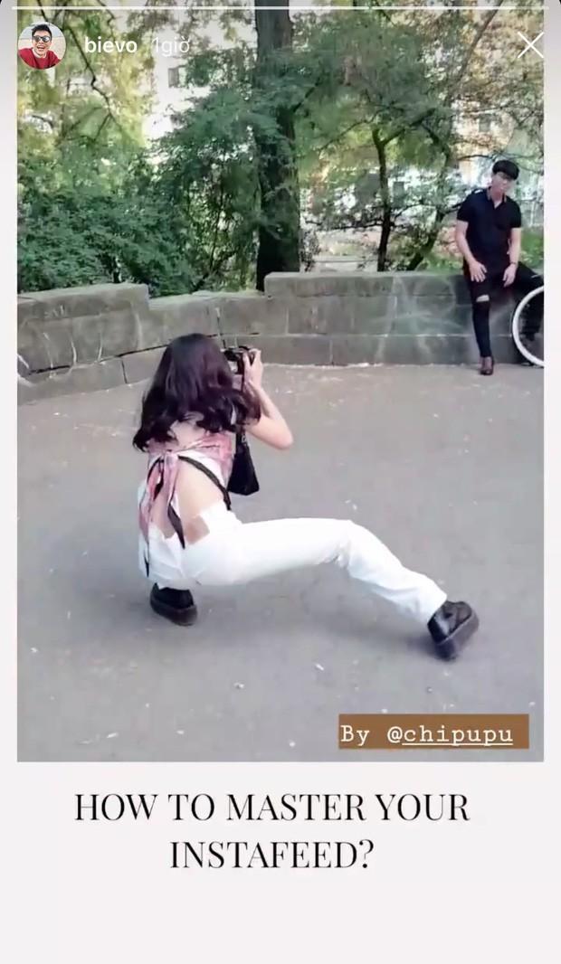 """Từ Việt sang Hàn, ai cũng mong đi du lịch có được người bạn chụp ảnh có tâm, sẵn sàng """"lăn xả"""" như Chi Pu - Diệu Nhi và Lisa - Rosé (BLACKPINK) - Ảnh 2."""