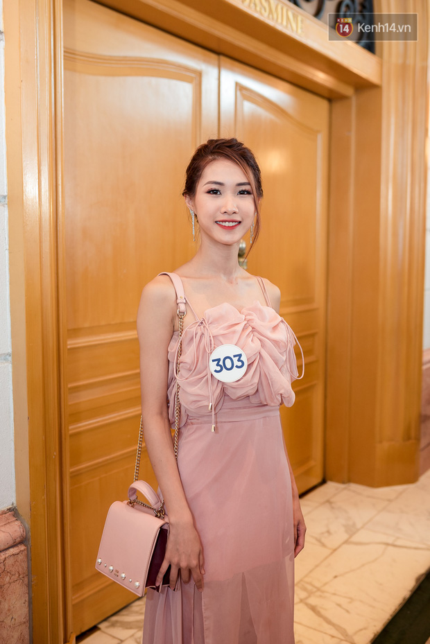 Hoa hậu Hoàn vũ Việt Nam đổ bộ miền Bắc: Tường Linh khoe vòng eo 53, mỹ nhân người dân tộc thiểu số gây chú ý - Ảnh 14.