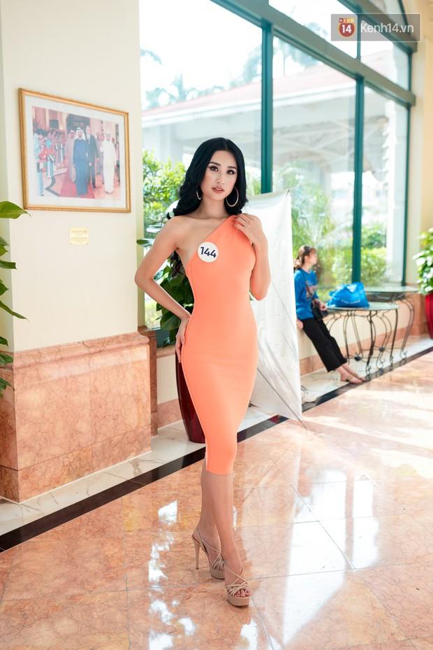 Hoa hậu Hoàn vũ Việt Nam đổ bộ miền Bắc: Tường Linh khoe vòng eo 53, mỹ nhân người dân tộc thiểu số gây chú ý - Ảnh 12.
