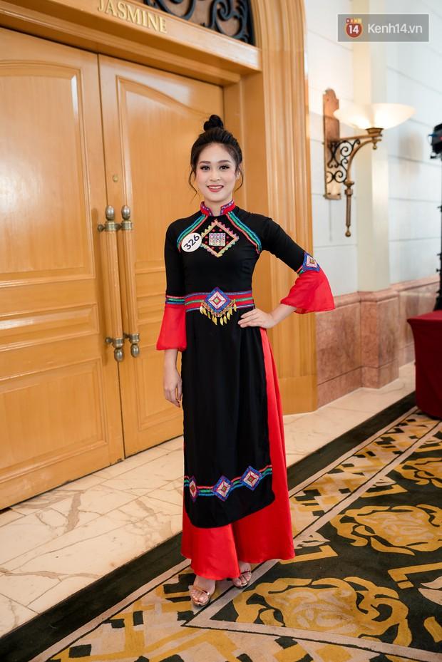 Hoa hậu Hoàn vũ Việt Nam đổ bộ miền Bắc: Tường Linh khoe vòng eo 53, mỹ nhân người dân tộc thiểu số gây chú ý - Ảnh 11.