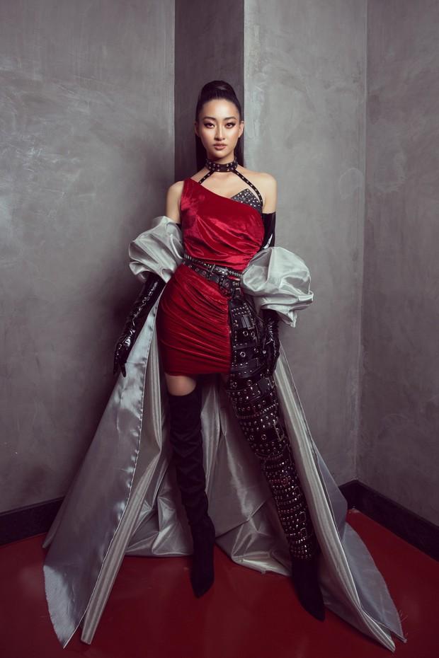 Tân Hoa hậu Lương Thùy Linh lột xác hầm hố, sải bước catwalk thần thái khó nhận ra sau 1 tháng đăng quang - Ảnh 2.