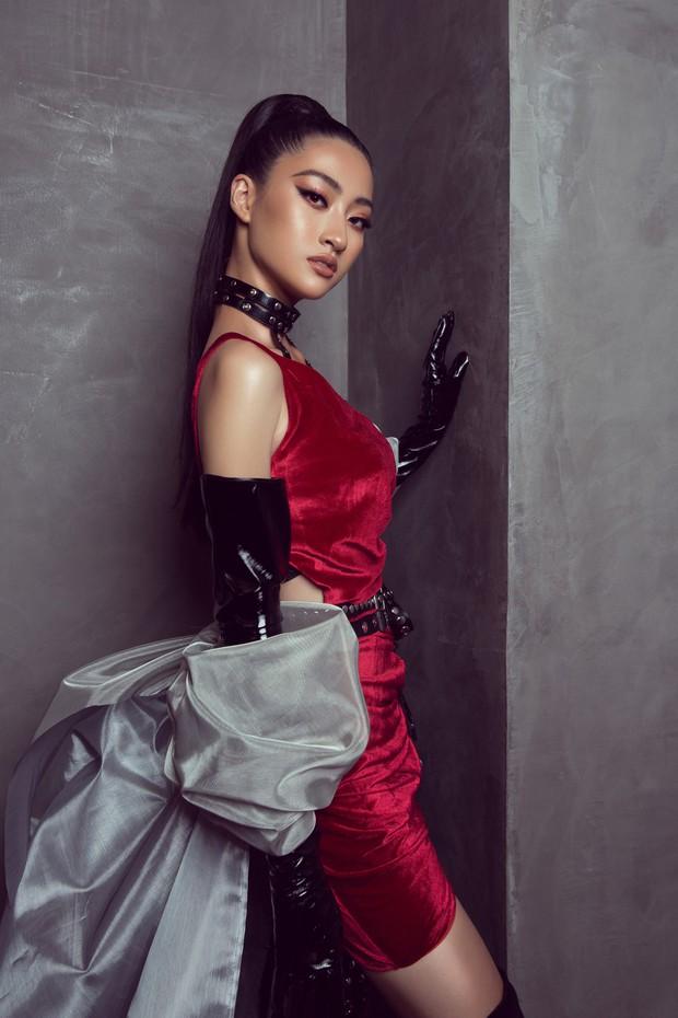 Tân Hoa hậu Lương Thùy Linh lột xác hầm hố, sải bước catwalk thần thái khó nhận ra sau 1 tháng đăng quang - Ảnh 3.