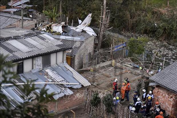 Rơi máy bay tại Colombia, ít nhất 7 người thiệt mạng  - Ảnh 1.