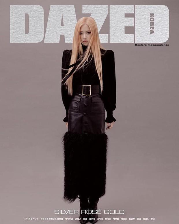 Hậu scandal hắt hủi: cuối cùng Rosé cũng được lên bìa tạp chí, style chất số hai thì không ai là số một - Ảnh 2.