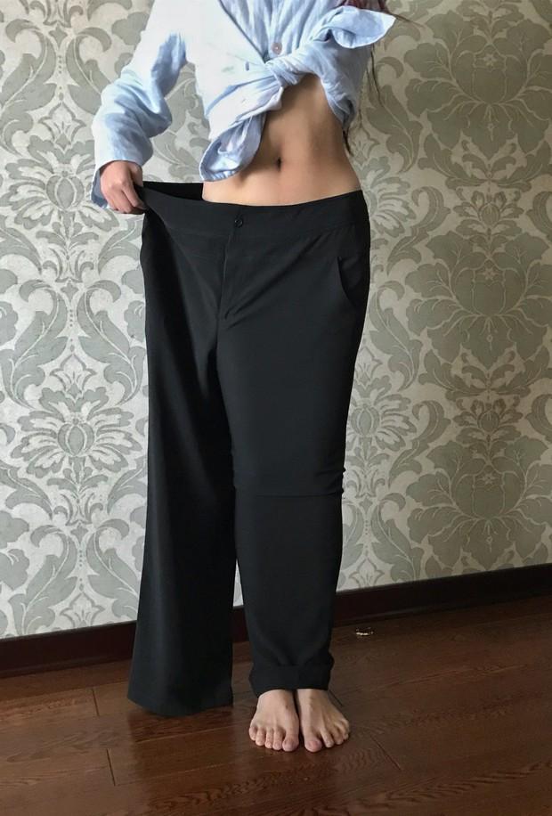 Giảm shock 36 kg, cô gái từng mắc hội chứng sợ soi gương hóa nữ thần MXH - Ảnh 4.