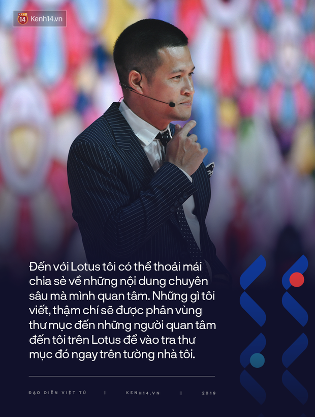 """Đạo diễn Việt Tú - chủ nhân của sân khấu 3D đỉnh cao trong đêm ra mắt MXH Lotus và bài chia sẻ tâm huyết: """"Hệ sinh thái kiến thức sẽ được mở rộng cho khắp chúng ta"""" - Ảnh 2."""