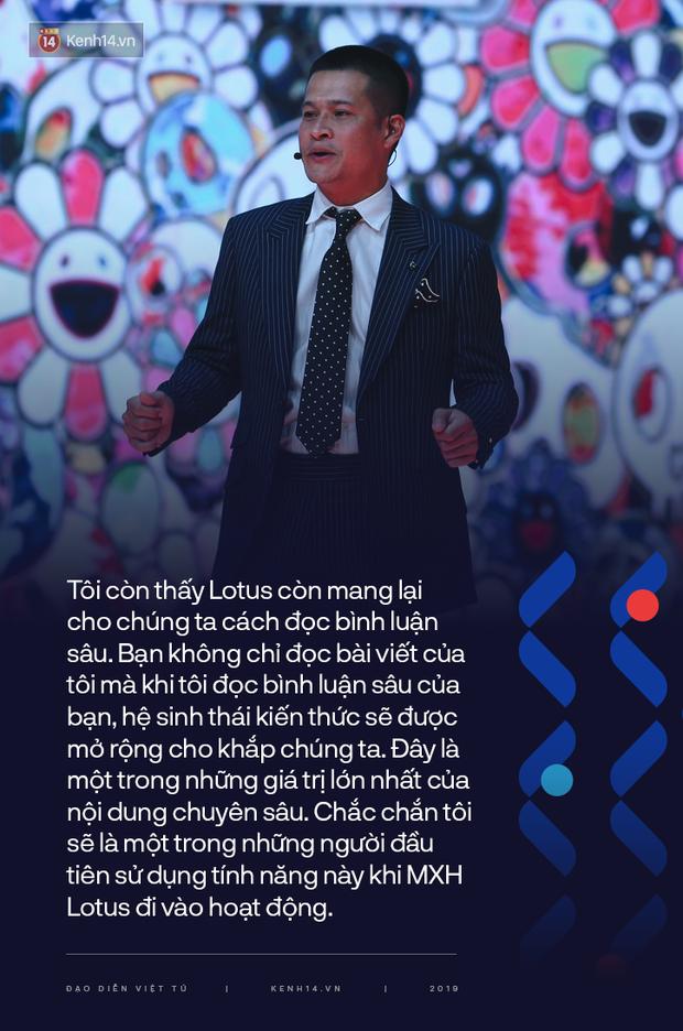 """Đạo diễn Việt Tú - chủ nhân của sân khấu 3D đỉnh cao trong đêm ra mắt MXH Lotus và bài chia sẻ tâm huyết: """"Hệ sinh thái kiến thức sẽ được mở rộng cho khắp chúng ta"""" - Ảnh 4."""