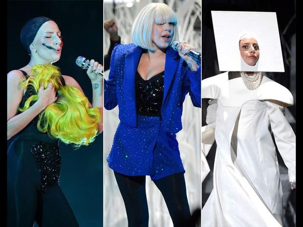 Những màn thay đồ chớp nhoáng của sao US-UK trên sân khấu: Trong khi Taylor Swift, Katy Perry phải vận hết công lực thì Jennifer Lopez đứng yên cũng ra hơn chục bộ váy - Ảnh 6.