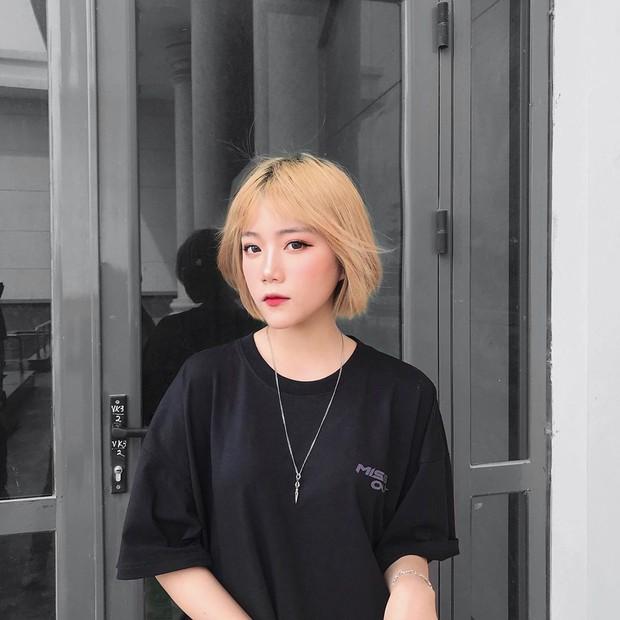 Nữ sinh 16 tuổi được thả tim ầm ầm vì tóc ngắn cá tính và gương mặt y như ulzzang Hàn - Ảnh 4.
