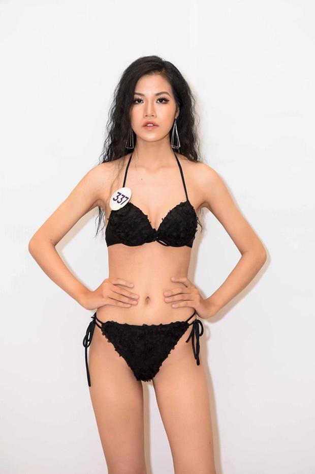 Dàn thí sinh Hoa hậu Hoàn vũ Việt Nam 2019 lột xác thế nào so với thời thi show thực tế? - Ảnh 14.