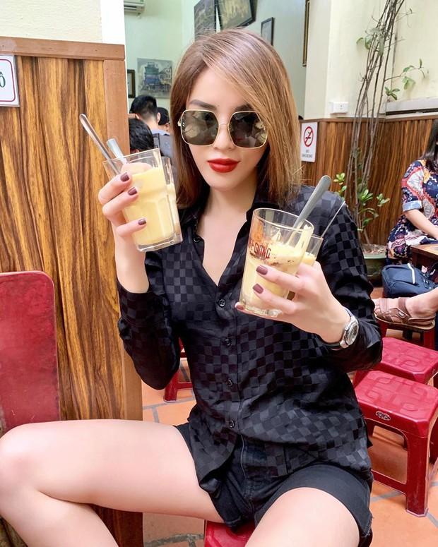 """Ra Hà Nội lần 2 trong mùa thu, Kỳ Duyên """"phục thù"""" ăn bằng được đặc sản này đúng kiểu rồi mới an tâm về Sài Gòn - Ảnh 1."""