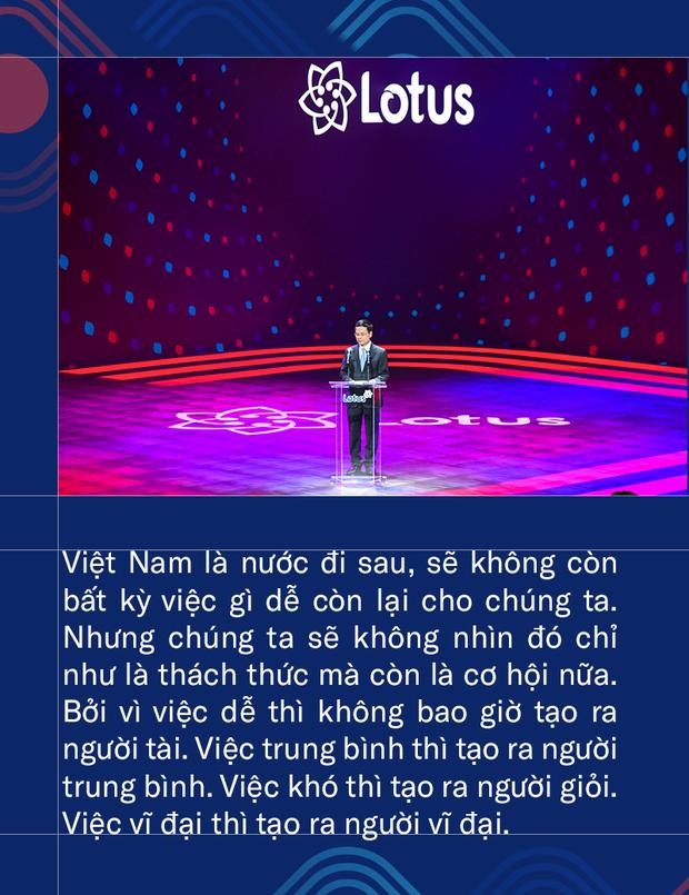 Bộ trưởng Bộ TT&TT Nguyễn Mạnh Hùng: Phát triển Lotus không phải thách thức mà là cơ hội. Vì việc dễ thì không tạo ra người tài - Ảnh 5.
