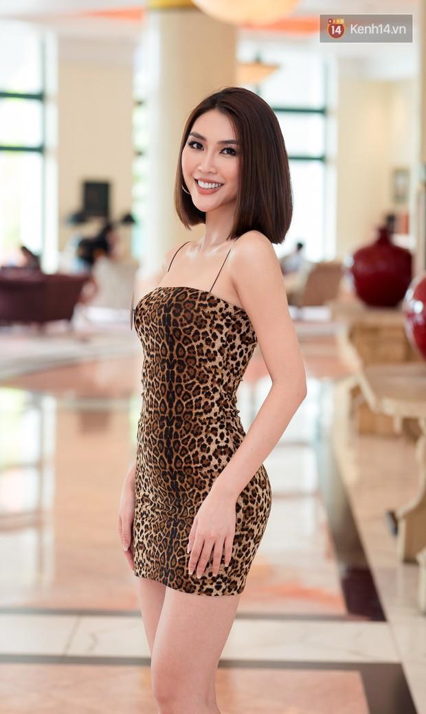 Body mướt mắt, Á quân The Face Tường Linh vẫn bị chê catwalk như đi chợ tại sơ khảo Hoa hậu Hoàn vũ Việt Nam 2019 - Ảnh 4.