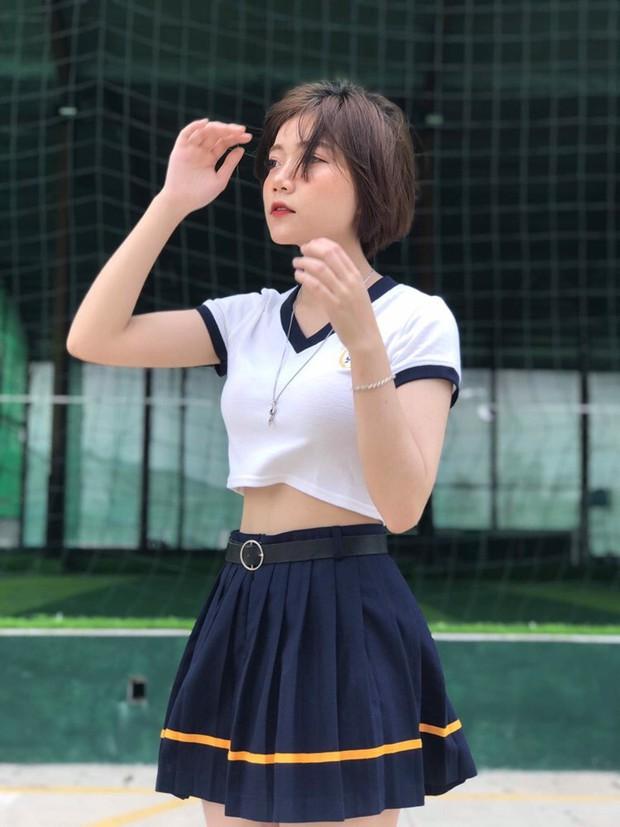 Nữ sinh 16 tuổi được thả tim ầm ầm vì tóc ngắn cá tính và gương mặt y như ulzzang Hàn - Ảnh 8.