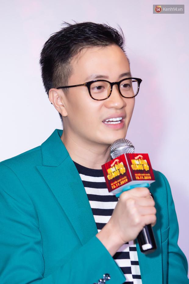 Minh Tú tóc bết sương sương, bị Lương Mạnh Hải tích cực bóc phốt tại thảm đỏ ra mắt phim Hoa Hậu Giang Hồ - Ảnh 12.