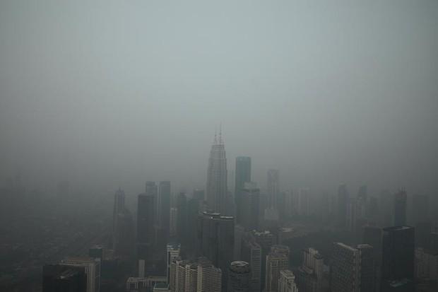 Cháy rừng khiến các nước Đông Nam Á chìm trong khói mù - Ảnh 2.